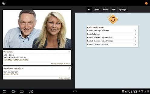 NPO Radio 5- screenshot thumbnail