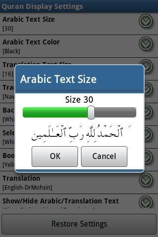 Al Quran (Al-Zikar Pro)- screenshot