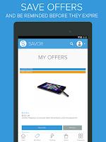 Screenshot of Savor - Coupons & Deals