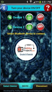 Bluetooth 2 Relays Control Pro - screenshot thumbnail