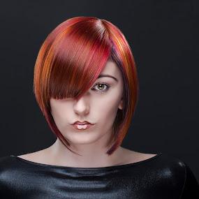 Simply Red by Martin Hill - People Fashion ( hair fashion )