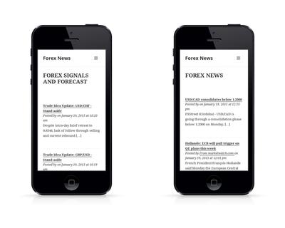 Forex News On The Go