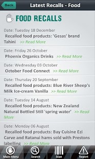 Product Recalls NZ - screenshot thumbnail
