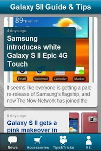 Galaxy S2 News & Tips - screenshot thumbnail