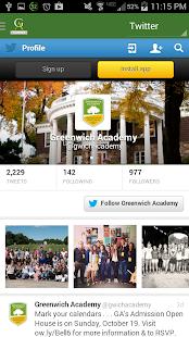 GA Alumnae inTouch- screenshot thumbnail