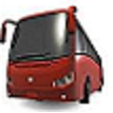 Gold Cost Transit Bus Time Pro icon