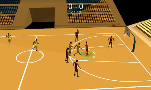 籃球比賽拍攝和扣籃