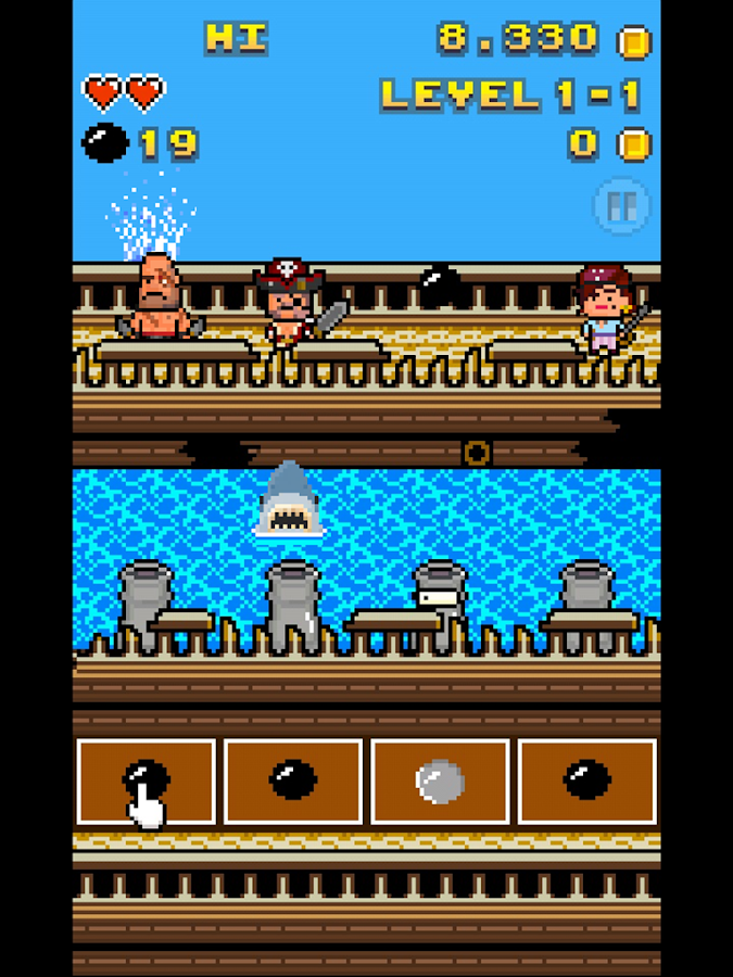 Bad Pirates- screenshot