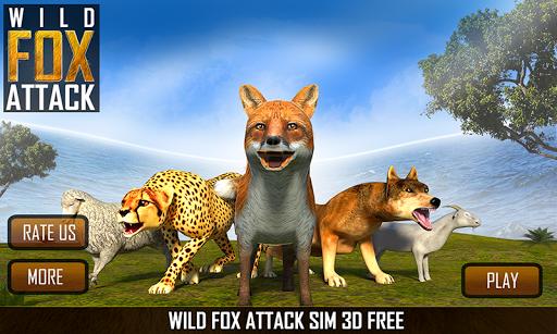 ワイルドフォックスの攻撃シム3D無料