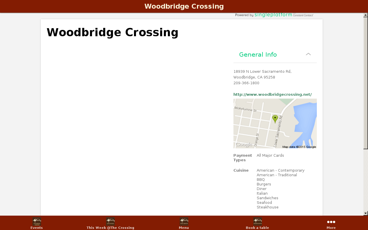 Woodbridge Crossing- screenshot