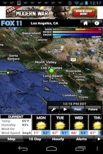 LA Weather - screenshot thumbnail
