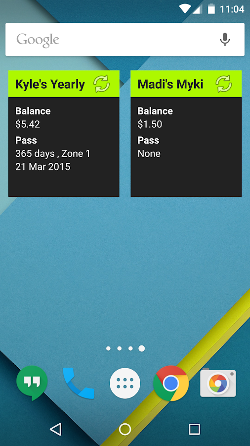 Myki Plus- screenshot