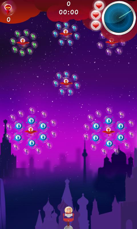 Bubble Invaders - screenshot