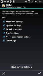 Bass Booster Tasker Plugin- screenshot thumbnail