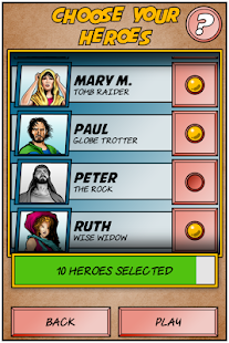 Bible Heroes The Game – Miniaturansicht des Screenshots