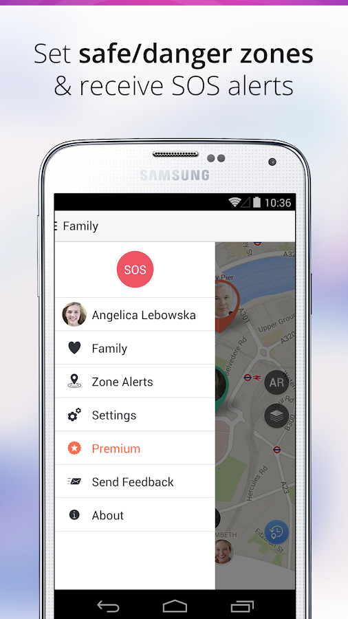 Family Locator - GPS Tracker - screenshot