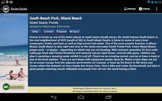 Screenshot of Swim Guide