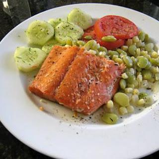 Salmon With Honey-Citrus Glaze