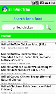Calorie Counter Free - screenshot thumbnail