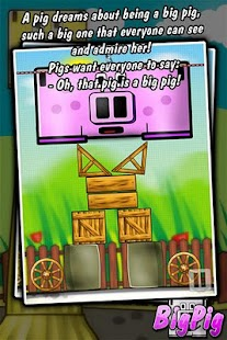 Big Pig - physics puzzle game - screenshot thumbnail