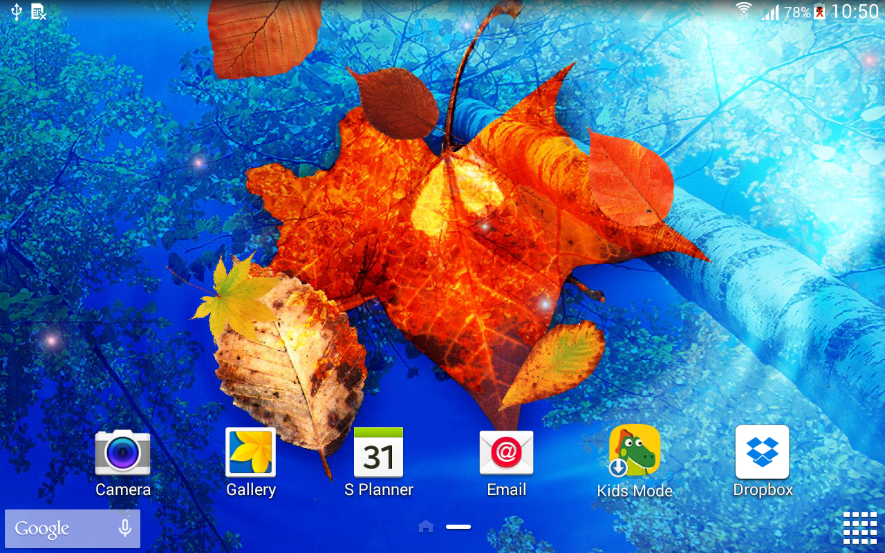 autumn leaves live wallpaper android apps on google play