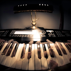 Playing on Sundays by Sergio Moya - Artistic Objects Musical Instruments ( music, playing, piano, instrument, , object, musical )