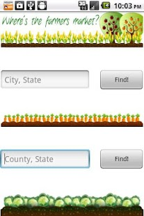 Farmers Market Locator- screenshot thumbnail