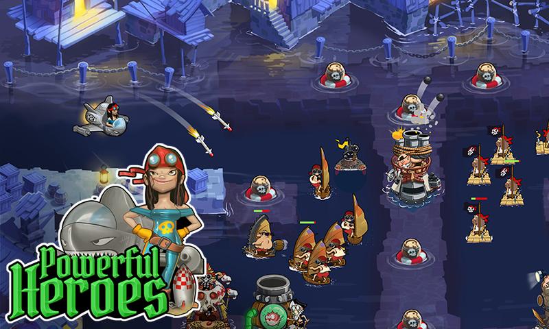 Pirate Legends TD - screenshot