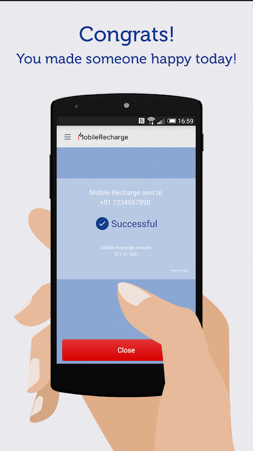 MobileRecharge - Mobile Top Up- screenshot