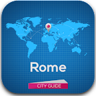 Rome Guide, Map, Weather icon