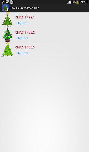 How to Draw: Xmas Tree