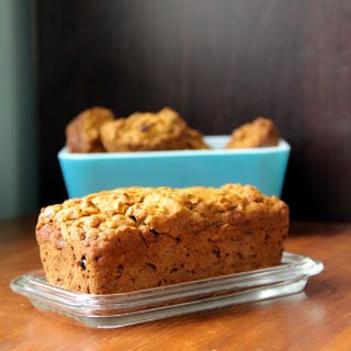Pumpkin & Oat Morning Bread