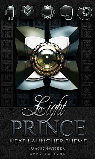 Next Launcher Theme Prince