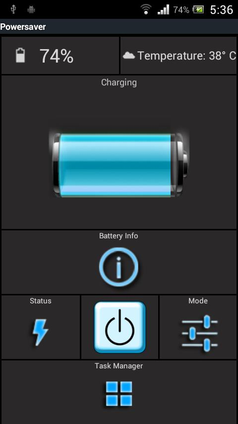 Power Saver Free - screenshot