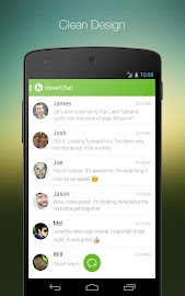 HoverChat (formerly Ninja SMS) Screenshot 1