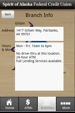 Spirit Of Alaska FCU Mobile - screenshot
