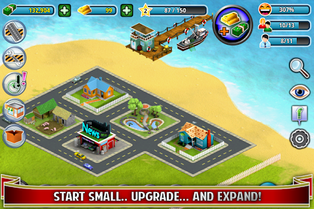 City Island ™: Builder Tycoon 3.3.3 MOD (Unlimited Cash/Gold) 2