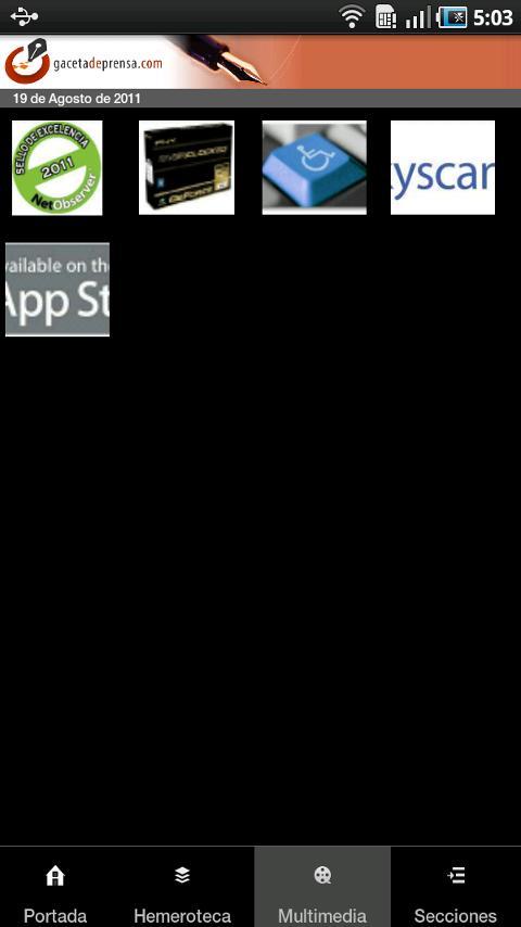 GacetadePrensa- screenshot