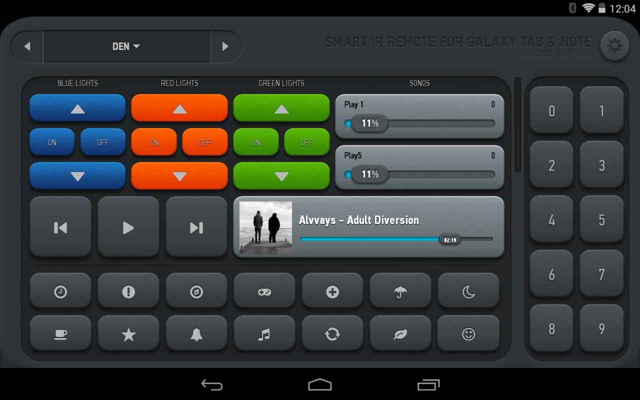 Smart IR Remote - AnyMote - screenshot