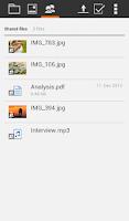 Screenshot of HiDrive