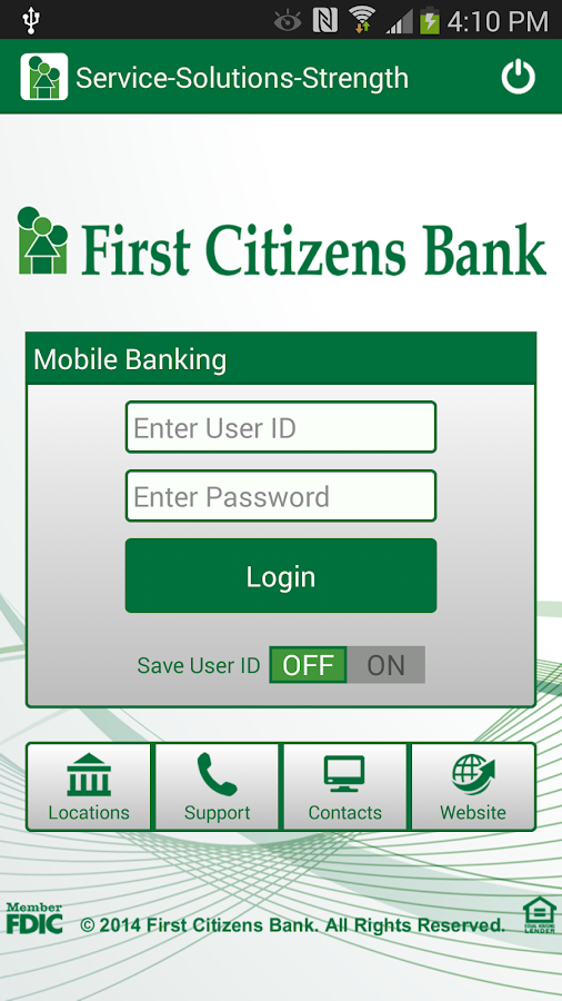 citizens bank online login help