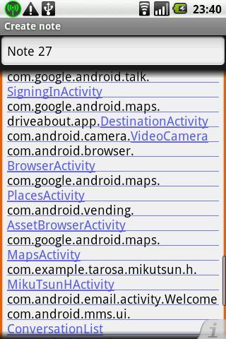GetIntentClassName- screenshot