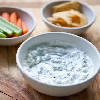 Herbed Yogurt Dip.