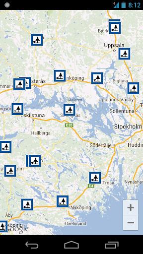 Rest Areas in Sweden