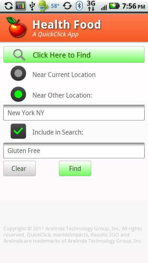 Health Food- screenshot