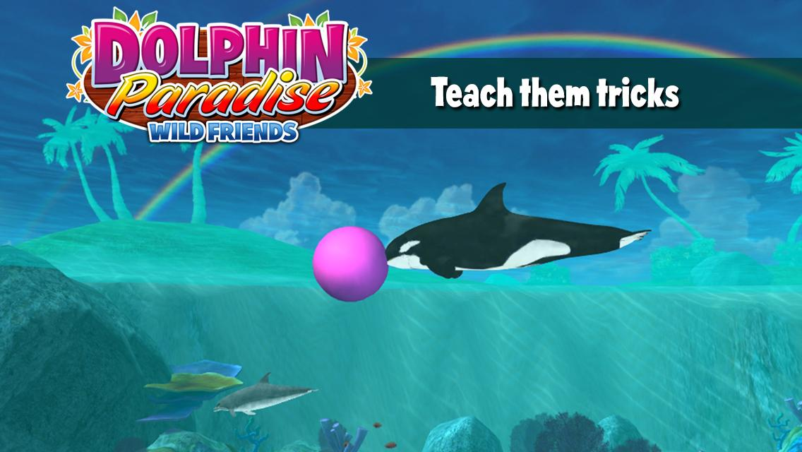 Dolphin Paradise: Wild Friends- screenshot