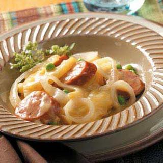 Potato Sausage Supper.