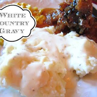 White Country Gravy.
