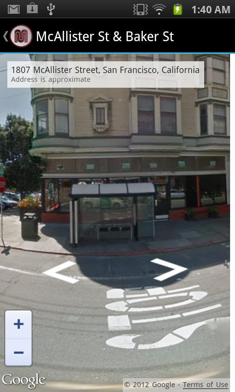 MobileMuni - The SF Muni App- screenshot