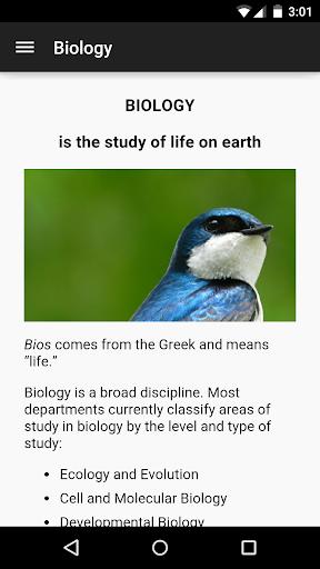 ClassApp: Biology